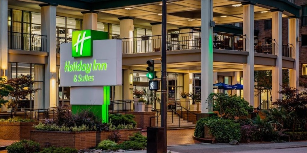Review of Holiday Inn on Howe Street