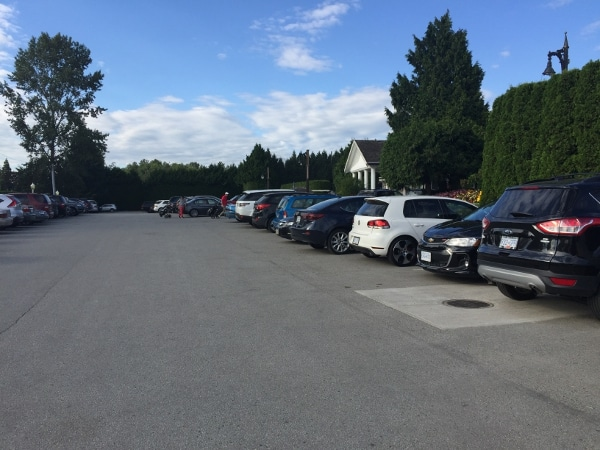 country meadows golf club parking lot