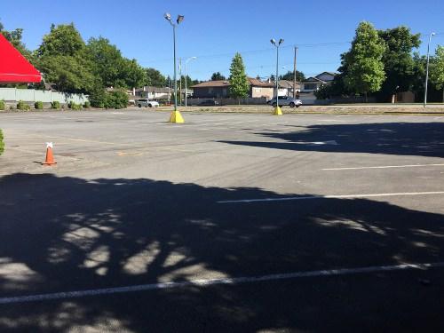 Austria Club Parking Lot