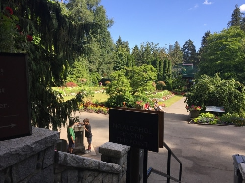 exterior scenery of Stanley Park Pavillion