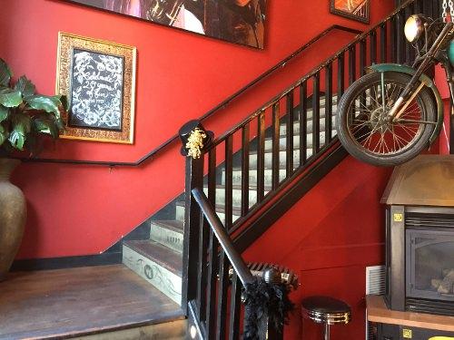 Staircase at Washington Avenue Grill
