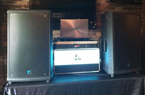 DJ Entertainment Setup