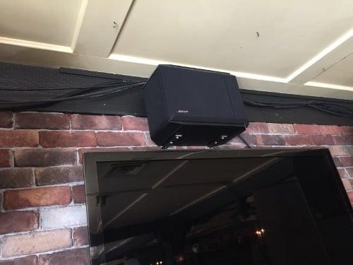 TV speaker and surround sound
