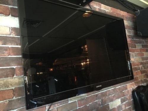 Flat screen TV for Karaoke