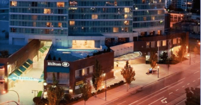 Venue Review Hilton Vancouver Metrotown