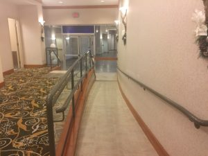 Hilton Ramp for disabled guests