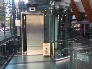Glowbal Restaurant Elevator