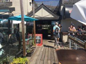 The Wicklow Pub boardwalk