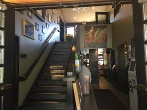 Staircase inside the Wicklow Pub