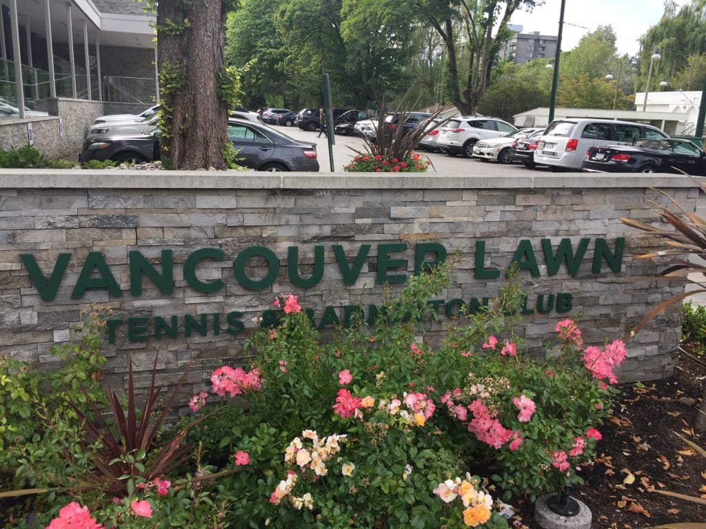The Vancouver Lawn & Tennis Club 2019